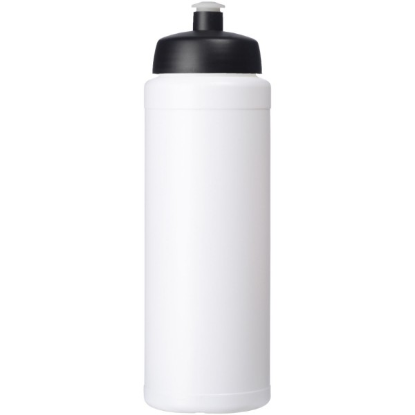 Baseline® Plus 750 ml bottle with sports lid - White / Solid black