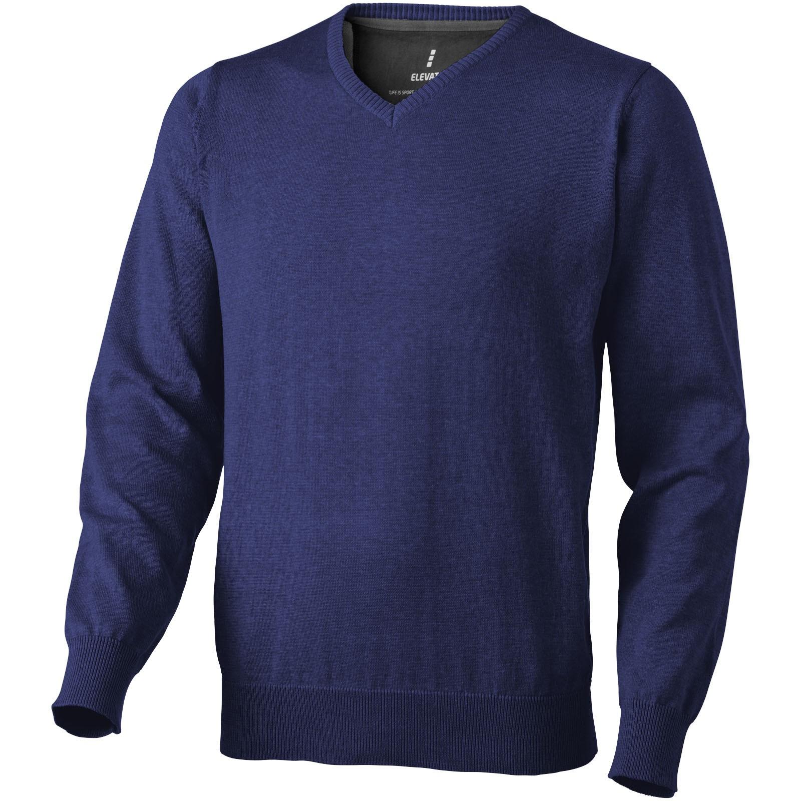 Spruce V-neck pullover - Navy / L