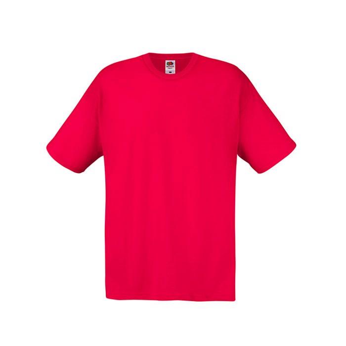 T-shirt Unisex 145 g/m² Original Full Cut 61-082-0 - Red / M
