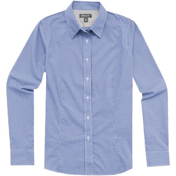 Dámská košile Net s dlouhým rukávem - Modrá / XS