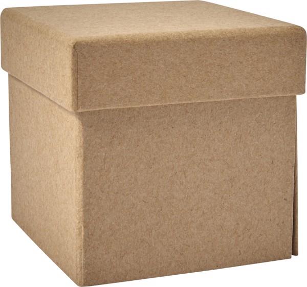 Cubo desplegable de cartón