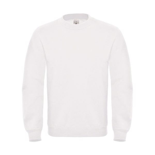 Cotton Rich Sweatshirt Id.002 Cotton Rich Sweatshirt - White / XXL