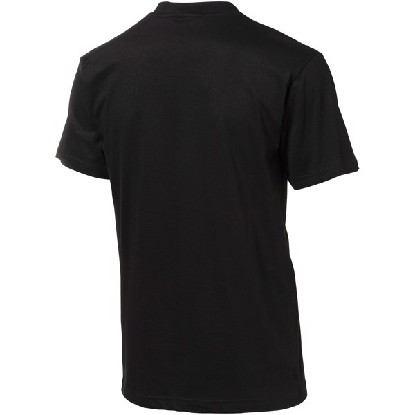 Ace short sleeve men's t-shirt - Solid black / L