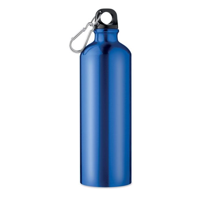 Trinkflasche Alu 750 ml Big Moss - blau