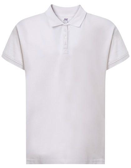 Curves Polo Lady - White / XL