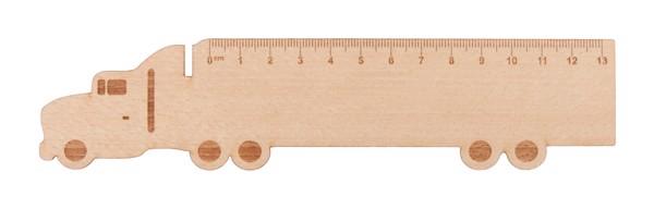 Wooden Ruler Looney - Natural