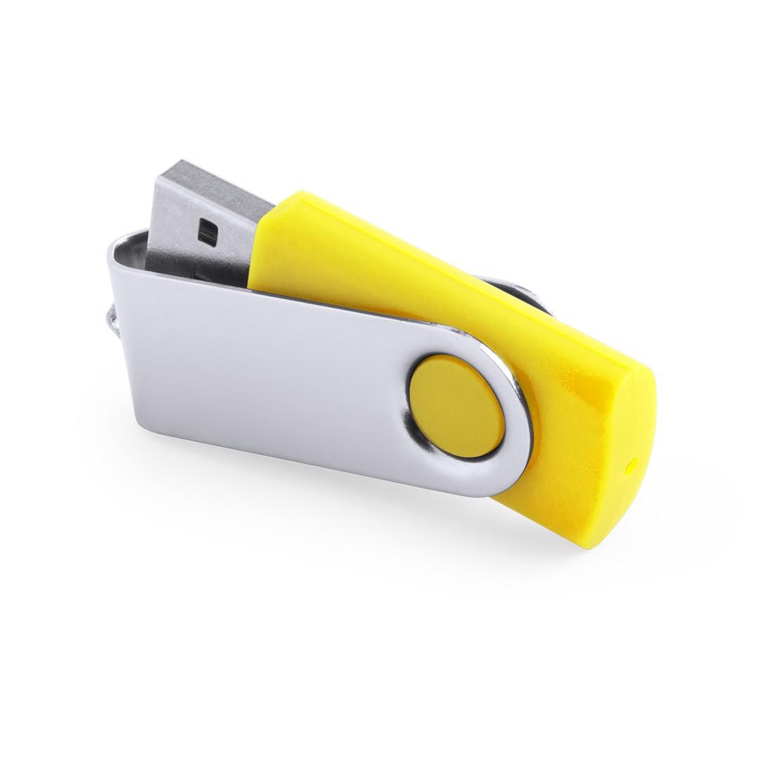 Memoria USB Rebik 16GB - Amarillo