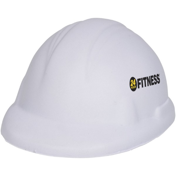 Sara hard hat stress reliever - White