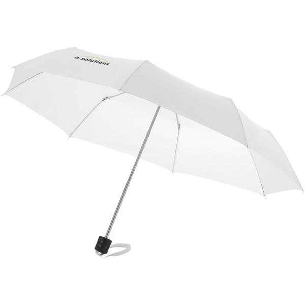"""21,5"""" skládací deštník Ida - Bílá"""
