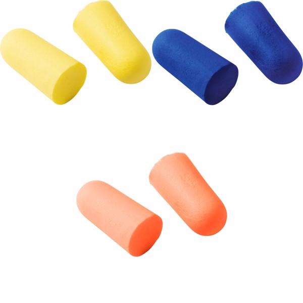 Memory foam earplugs - Orange