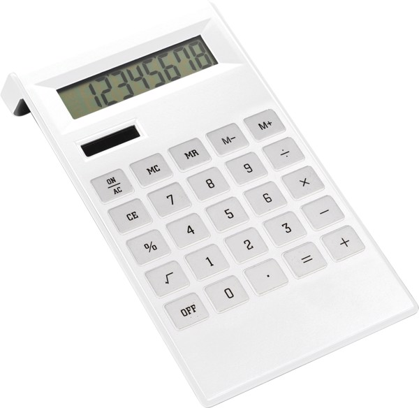 ABS calculator - White