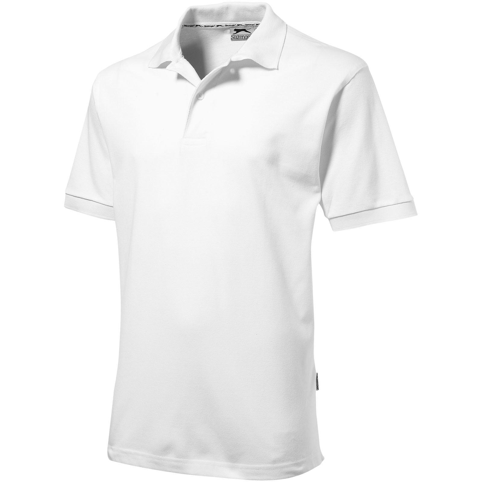 Forehand short sleeve men's polo - White / S