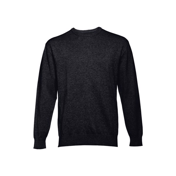 THC MILAN RN. Men's crew neck jumper - Black / M