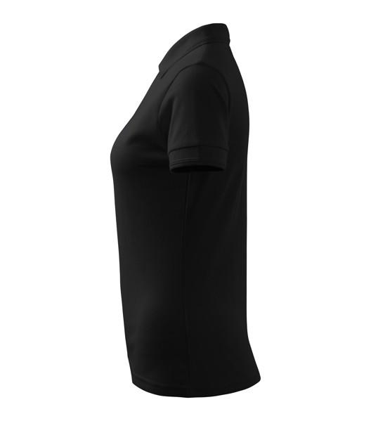 Polo Shirt women's Malfini Pique Polo - Black / 2XL