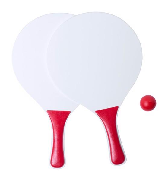 Beach Tennis Kongal - Red / White