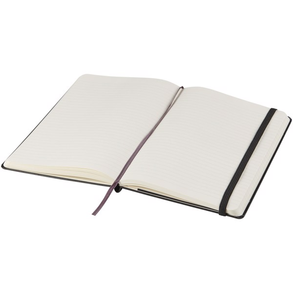 Classic L hard cover notebook - ruled - Solid black