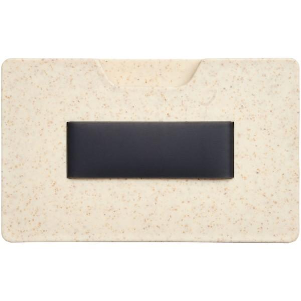 Grass RFID multi card holder - Beige