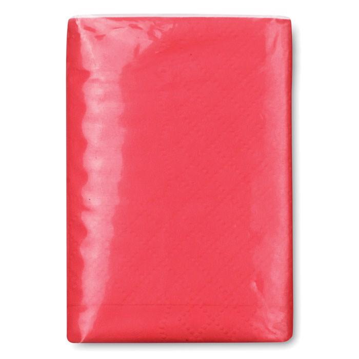 Mini chusteczki Sneezie - czerwony