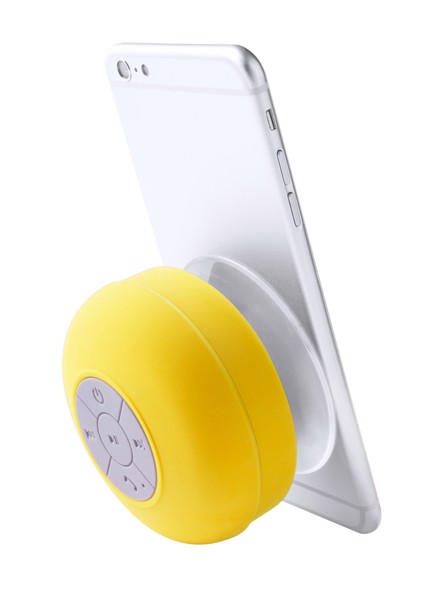 Vodotěsný Bluetooth Reproduktor Rariax - Žlutá / Bílá