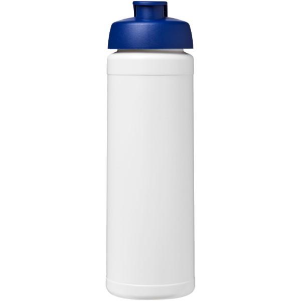 Baseline® Plus 750 ml flip lid sport bottle - White / Blue