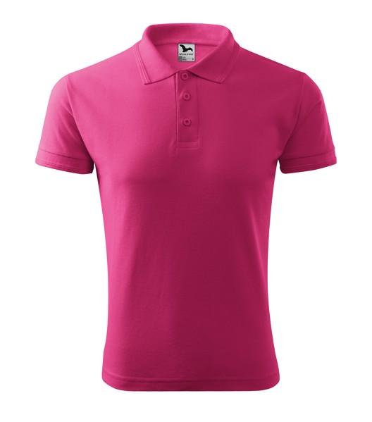 Polo Shirt men's Malfini Pique Polo - Magenta / 2XL