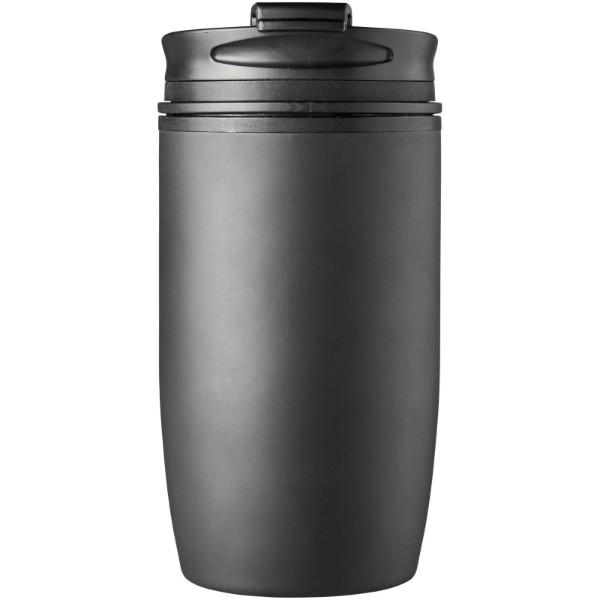 """Taza de 330 ml con aislamiento """"Prado"""" - Negro intenso"""