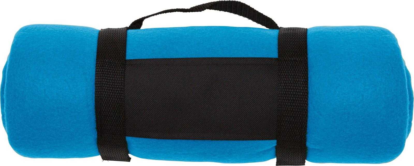 Polar fleece (170-180 gr/m²) blanket - Light Blue