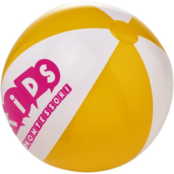 Piłka plażowa Bora - Żółty / Biały