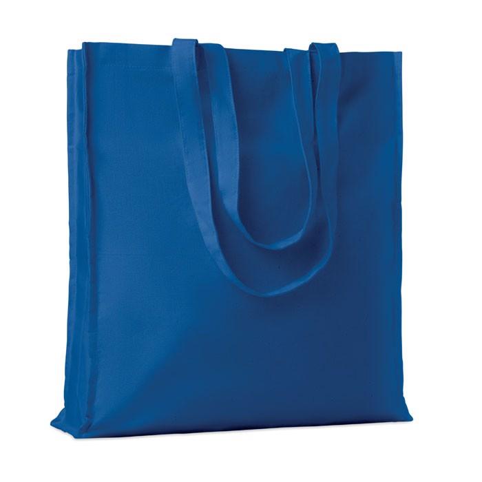 Cotton shopping bag w/ gusset Portobello - Royal Blue