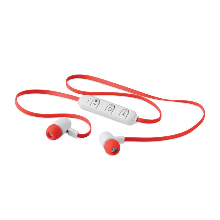 Wireless earphone in a box Jazz - Red