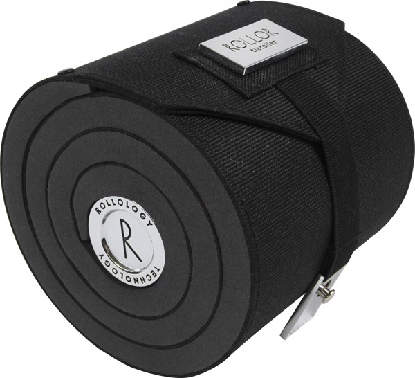 Rollor® Krawattenrolle aus Polyester - Black