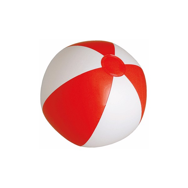Beach Ball Portobello - White / Red