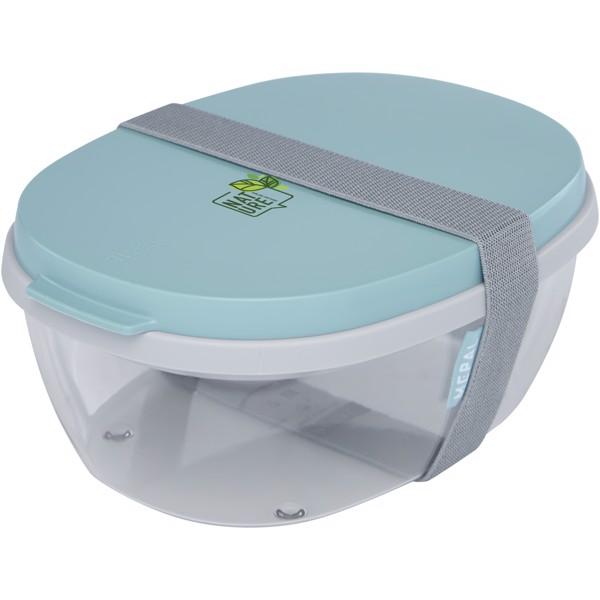 Ellipse salad box - Mint