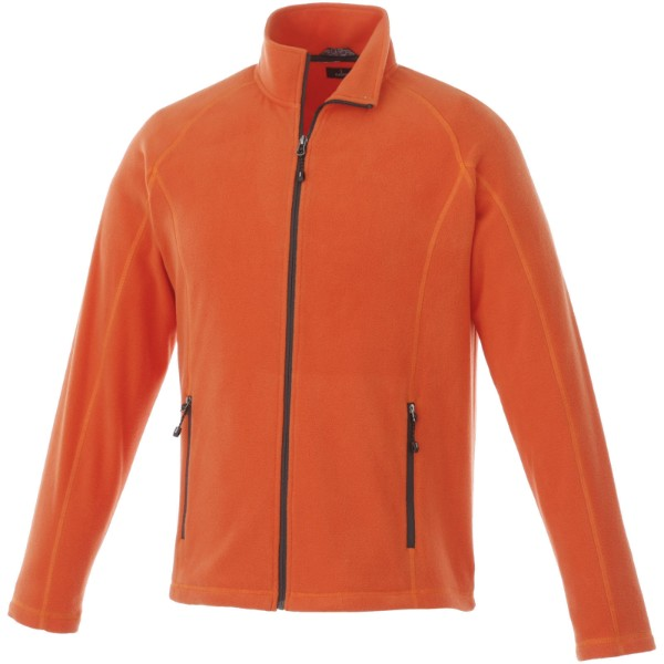 Rixford polyfleece full zip - Orange / L