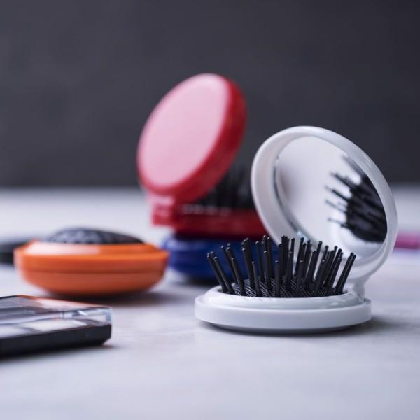 Cepillo con Espejo Glance - Blanco