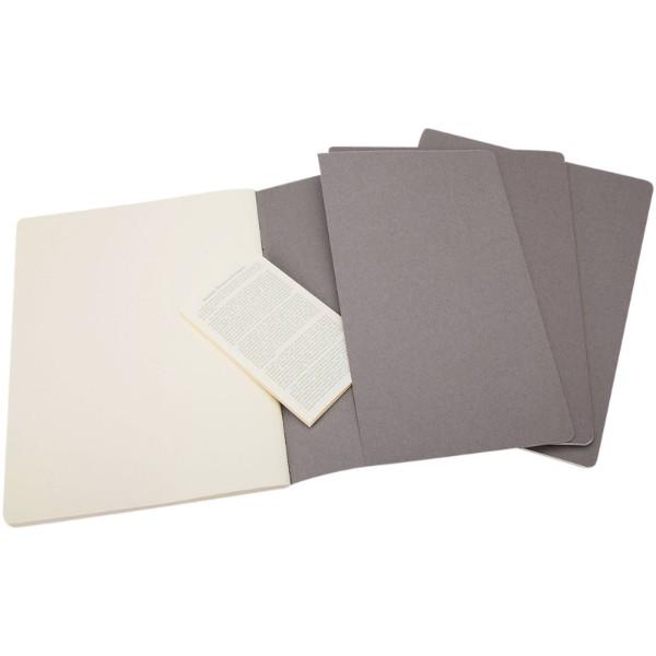 Cahier Journal XL - plain - Pebble grey