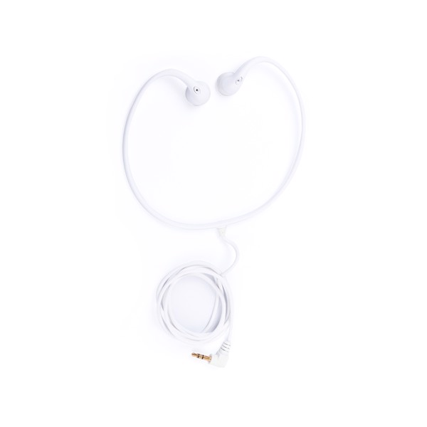 Earphones Hoos - White