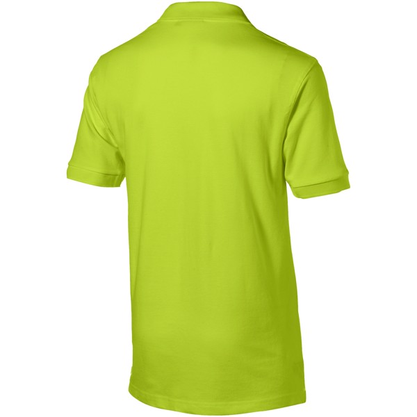 Forehand short sleeve men's polo - Apple green / XXL