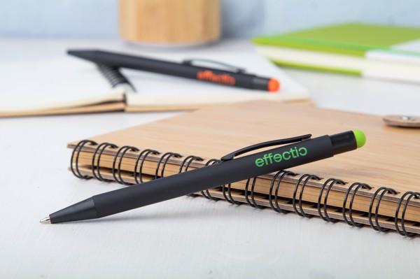 Kuličkové Pero Pearly - Zelená / Černá