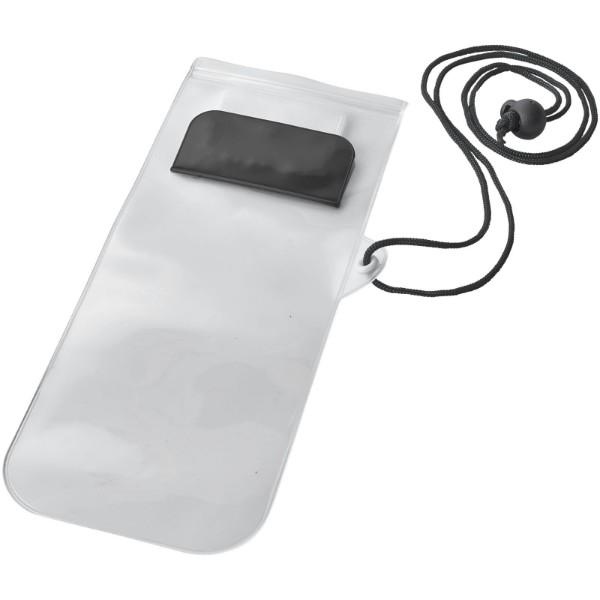 Mambo waterproof smartphone storage pouch - Solid black