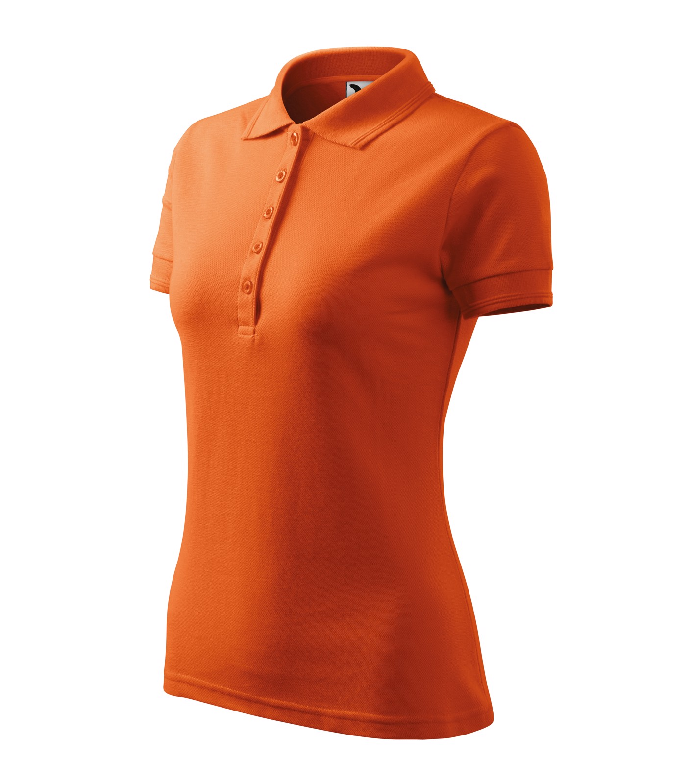 Polo Shirt Ladies Malfini Pique Polo - Orange / XS