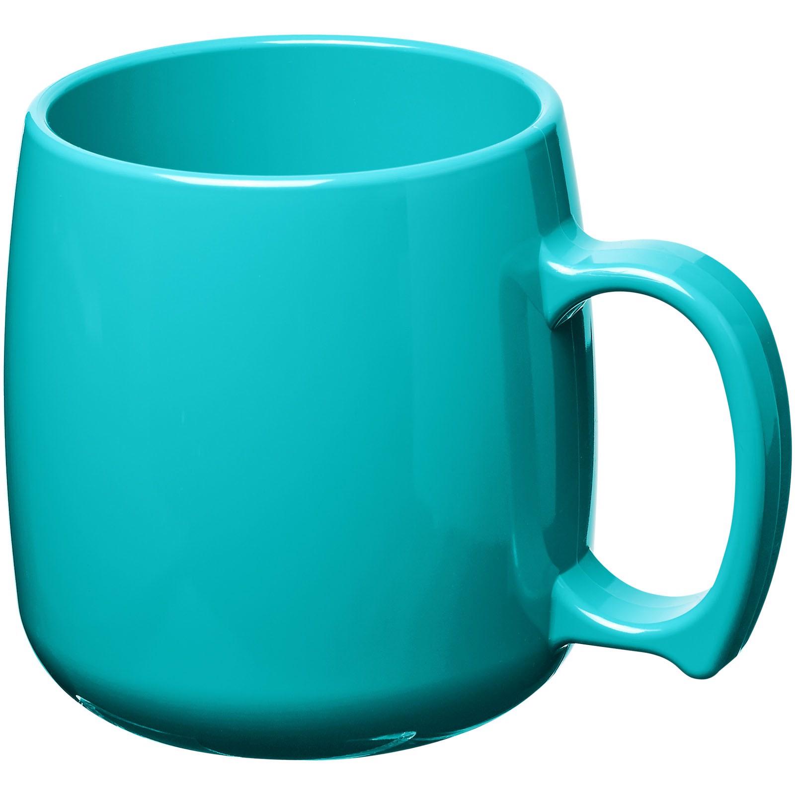 Classic 300 ml plastic mug - Aqua