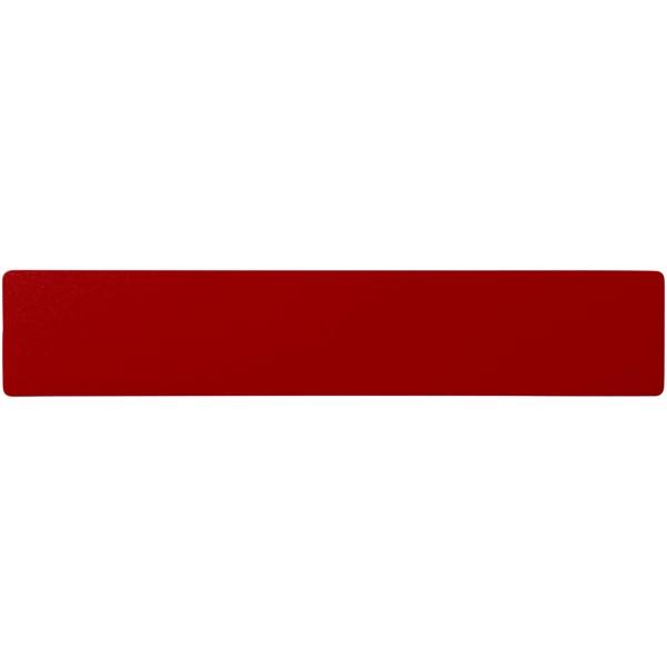 Rothko 20 cm plastic ruler - Red