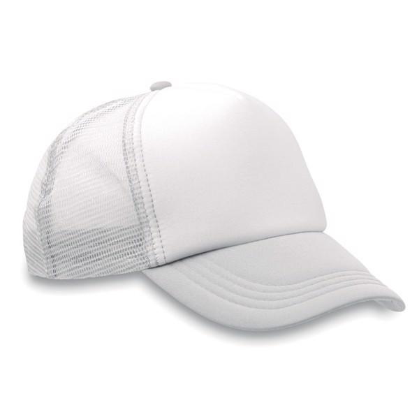 Czapka -bejsbolówka Trucker Cap - biały
