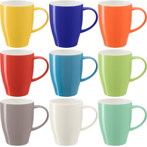 Porcelain mug - Yellow