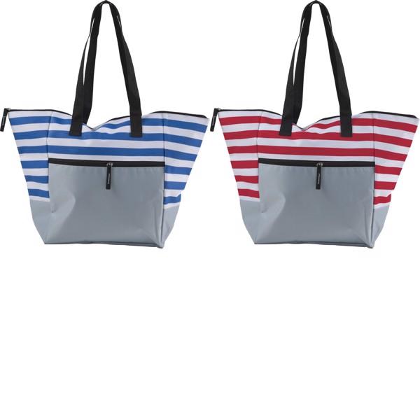 Polyester (600D) beach bag - Blue