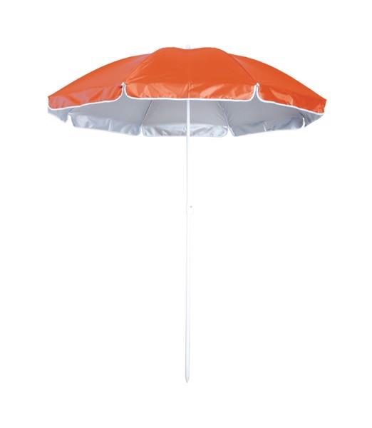 Sonnenschirm Taner - Orange / Weiß