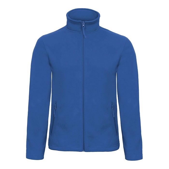 Men's Polar Fleece 280 g/m2 Micro Fleece Zip Id.501 Fui50 - Royal Blue / M