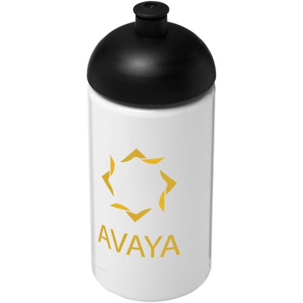 H2O Bop® Bidón deportivo con Tapa Dome de 500 ml - Blanco / Negro intenso