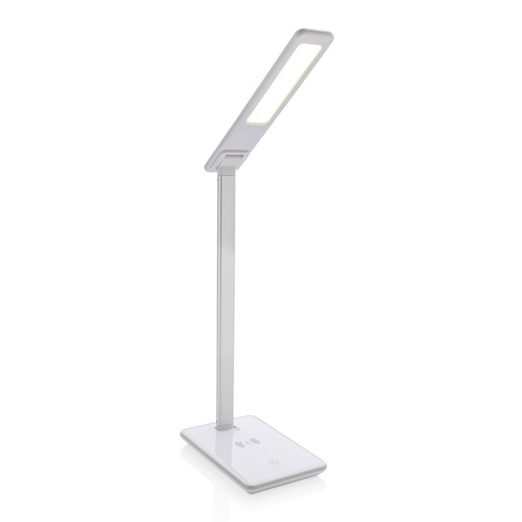 Asztali lámpa 5W-os vezeték nélküli töltéssel